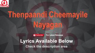 Thenpaandi Cheemayile Karaoke with Lyrics Nayagan