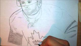 Joffrey Lupul drawing