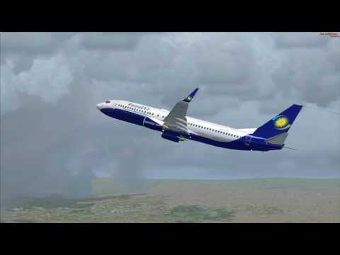 flight from Bujumbura to Kisauni  Zanzibar (RwandAir)