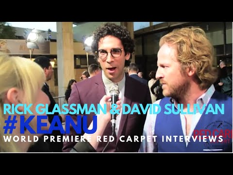 "Rick Glassman Undatable & David Sullivan Flaked at the premiere of ""Keanu"" KEANU KeyandPeele"