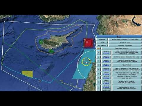 Massive Drills Kick Off, NOTAMs Issued Over Large Regions of Eastern Mediterranean