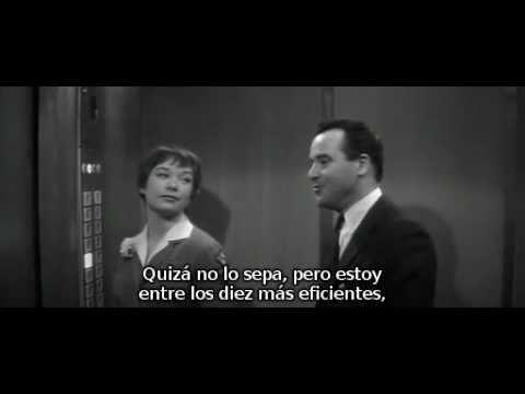 The apartment escena del ascensor subtitulada youtube for El cuarto piso pelicula