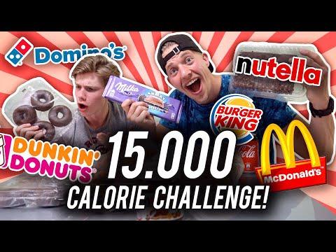 15.000 CALORIE CHALLENGE OP VAKANTIE!🍔🏝