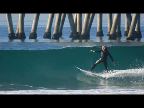 Surfing HB Pier | December 29th | 2017 (RAW)