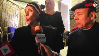فنانون في عزاء مديحة سالم: الدولة لم تُكرمها في حياتها وتجاهلت وفاتها (اتفرج)
