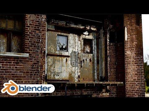 【Blender】バイオ8に出てきそうなリアルなシーンのチュートリアル