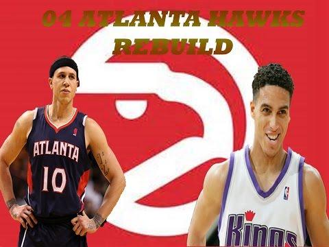 REBUILDING THE 04 ATLANTA HAWKS WORSE RECORD TO BEST RECORD IN NBA - NBA 2K17 REBUILDING SERIES