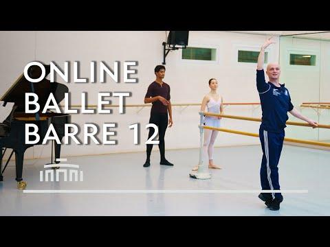 Ballet Barre 12 (Online Ballet Class) - Dutch National Ballet