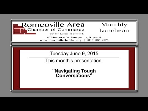 Romeoville Area Chamber of Commerce Luncheon June 2015