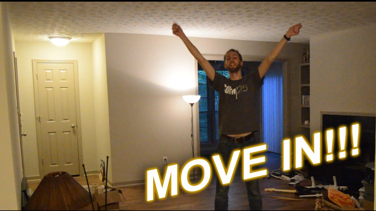 Moving Into My Apartment!!!