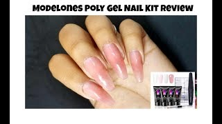 Modelones Poly Gel Nail Kit Review 💅 #modelones #polygel
