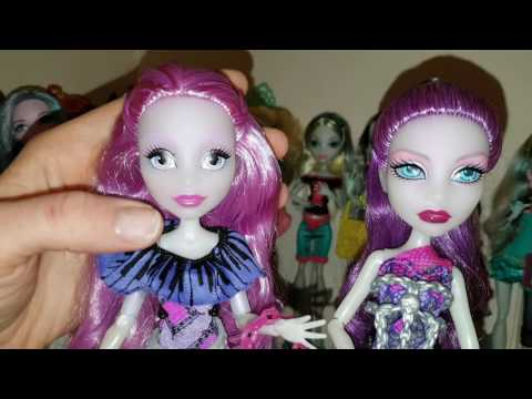 Monster high first day of school Ari hauntington review