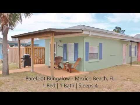 Barefoot Bungalow | Gulf View Rental Home in Mexico Beach, FL