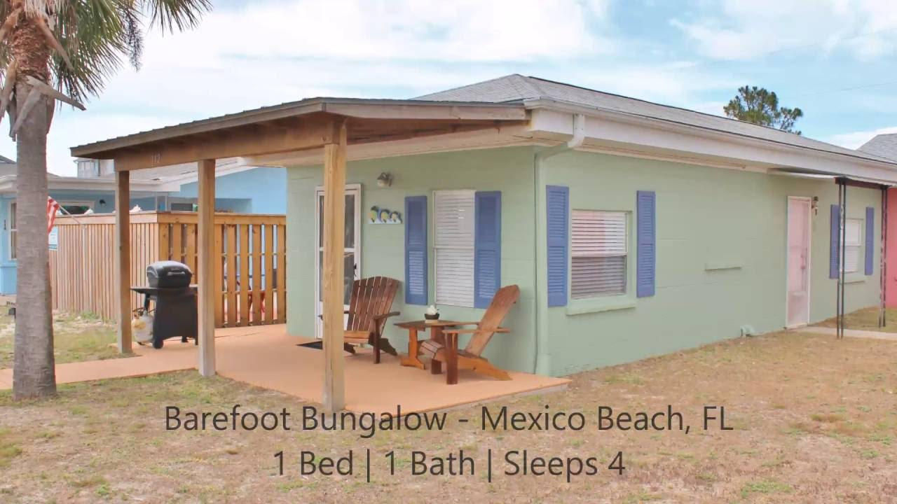 Barefoot Bungalow Gulf View Al Home In Mexico Beach Fl