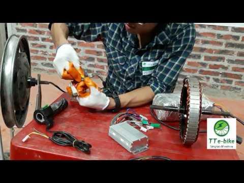 Hướng dẫn kiểm tra cảm biến của động cơ và tay ga xe đạp điện
