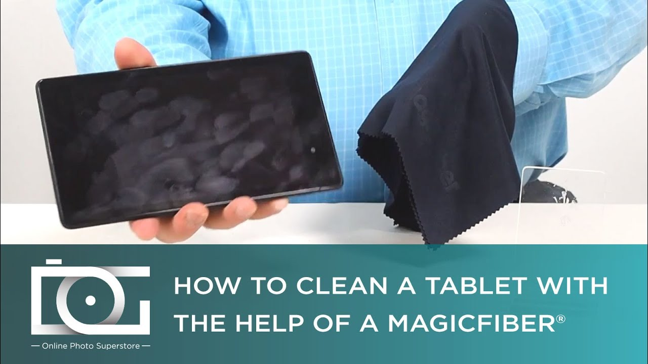 how to clean a tablet screen the right way magicfiber. Black Bedroom Furniture Sets. Home Design Ideas