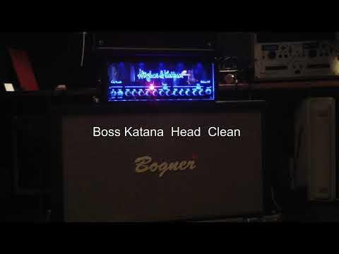 Boss Katana 100 Head Clean