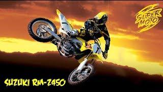 СуперМОТО чемпионат дрифтим на мотарде Suzuki RM-Z 450 🏍️ Спортивные гонки на мото Ride  2