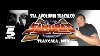 Sonido Samurai La Cumbia caliente Santa Apolonia Teacalco 5 febrero 2014 yep yep yep