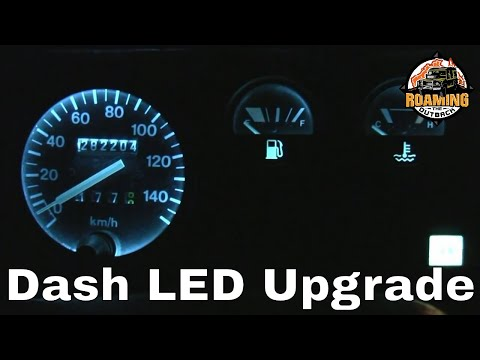 Land Rover Defender LED Dash Lighting Upgrade - Installation And Review