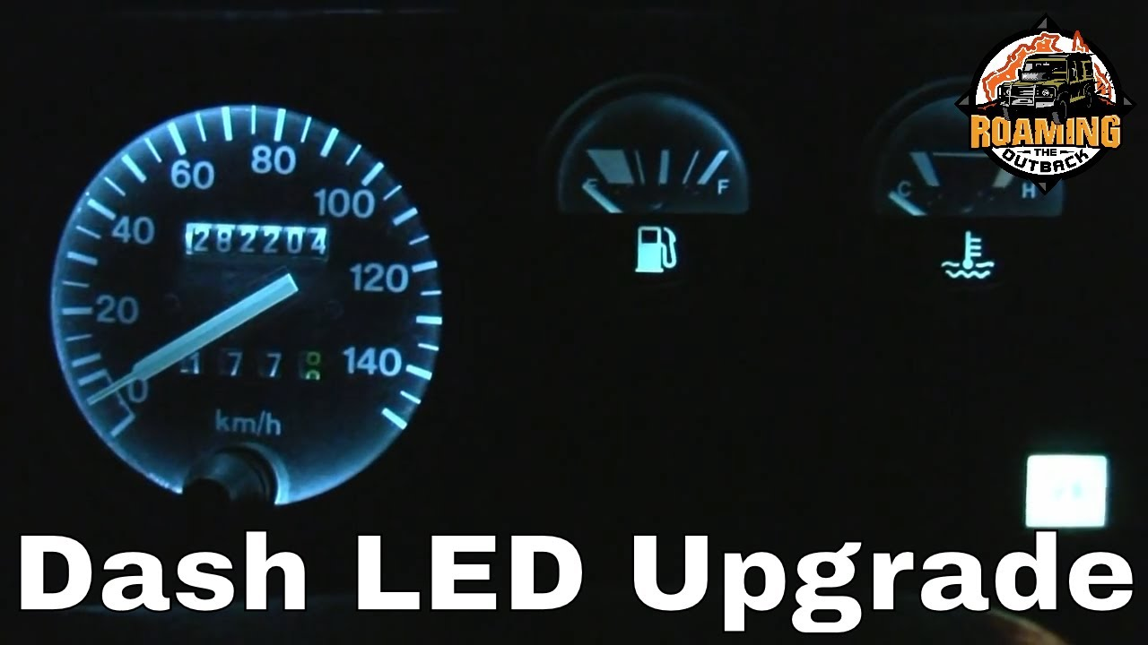 Land Rover Defender LED Dash Lighting Upgrade  Installation and Review  YouTube