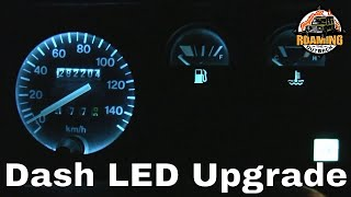 Land Rover Defender LED Dash Lighting upgrade