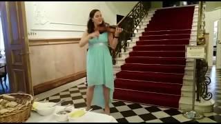 Violinist Lotta Virkkunen @ Näsilinna Brunch