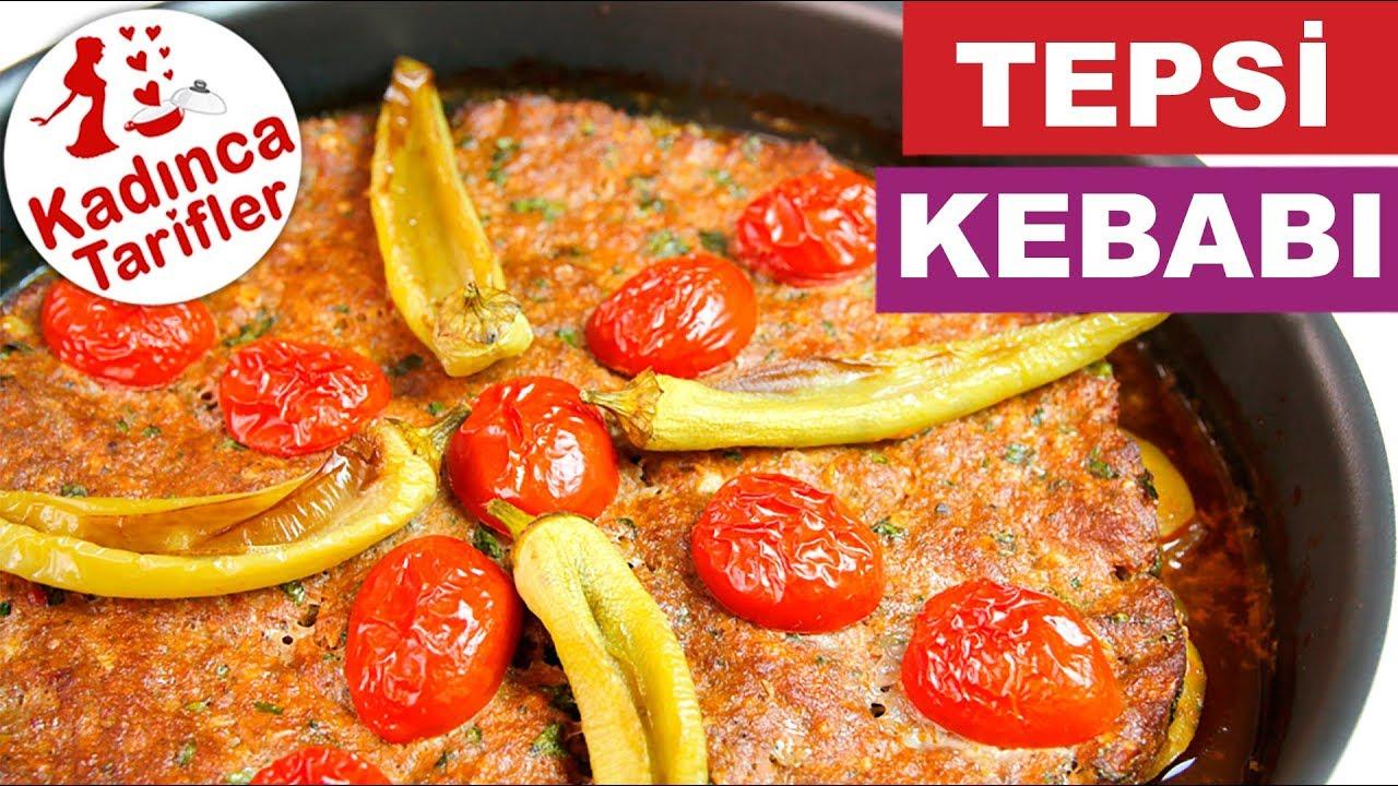 Tepsi Kebabı Tarifi 2 – Ana Yemek Tarifleri