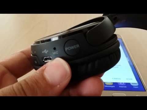 How to pair SONY MDR-ZX330bt bluetooth headset to Samsung Android