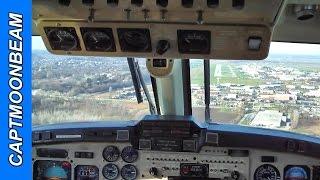 King Air 350 landing Spirit of St Louis Airport KSUS