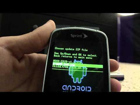 How to Increase Samsung Moment Battery Life and Root. Get Android 2.3