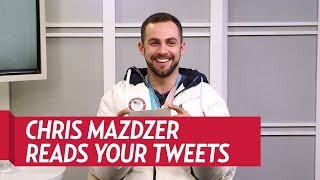 Chris Mazdzer Reads Your Tweets