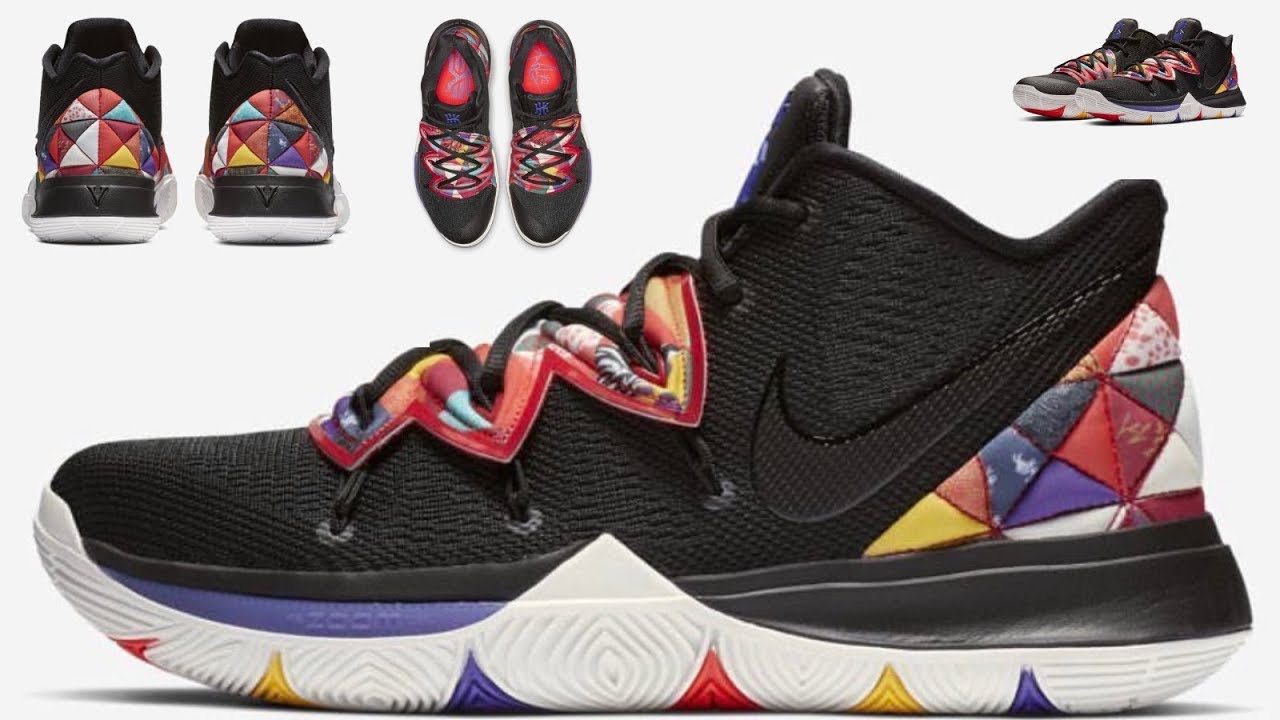 "8983ce3b7f0a KYRIE IRVING S Nike Kyrie 5 ""Chinese New Year"" 2019 EARLY LOOK - YouTube"
