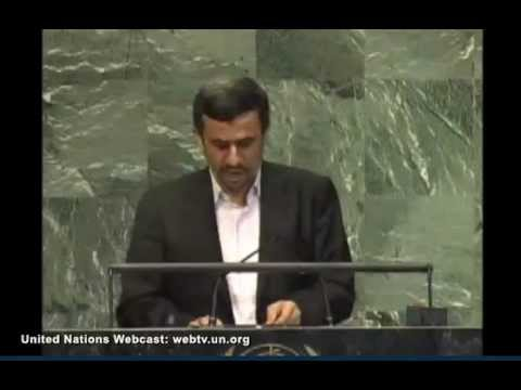 iran's president mahmoud ahmadinejad address to the 67th un general assembly 2012