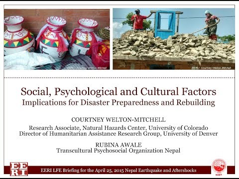 Social, Psychological, and Cultural Factors by C. Welton Mit