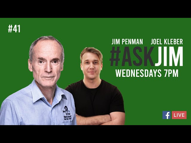 #ASKJIM Episode 41 with Jim Penman and Joel Kleber | 131 546 | www.jims.net