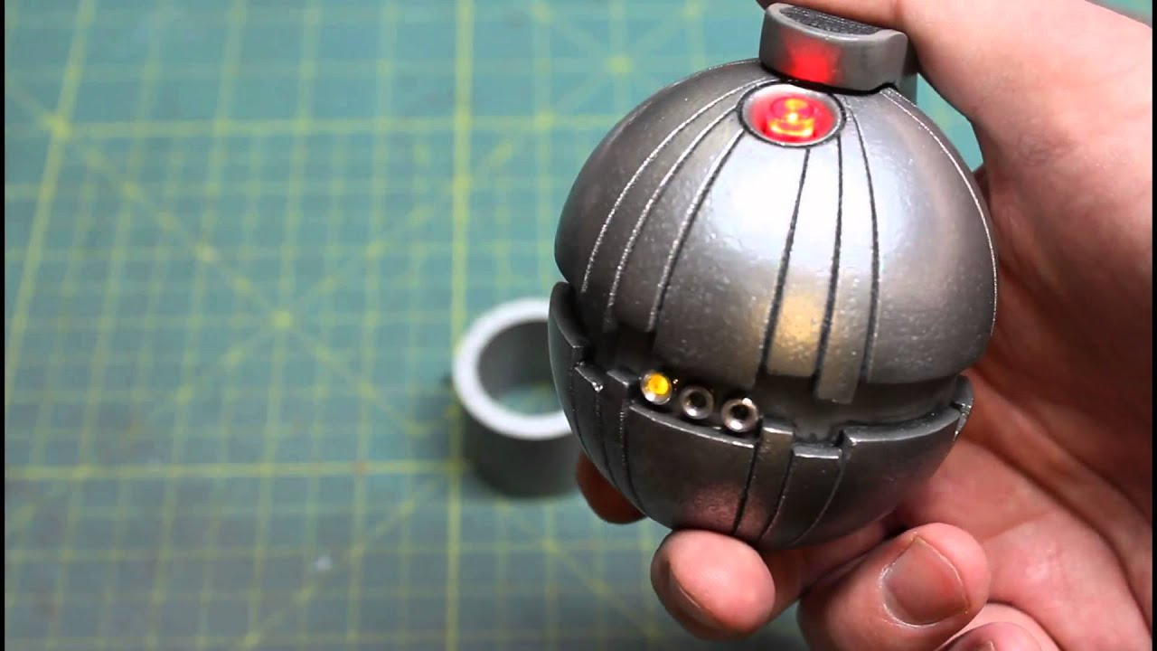 Thermal detonator prop youtube for Thermal watches