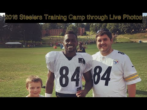 2016 Pittsburgh Steelers Training Camp through Live Photos
