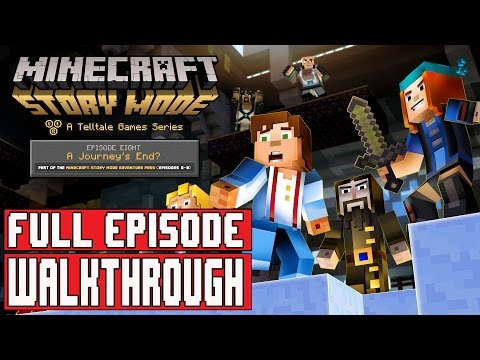 Minecraft Story Mode Episode 8 Gameplay Walkthrough Part 1 FULL EPISODE / FULL GAME