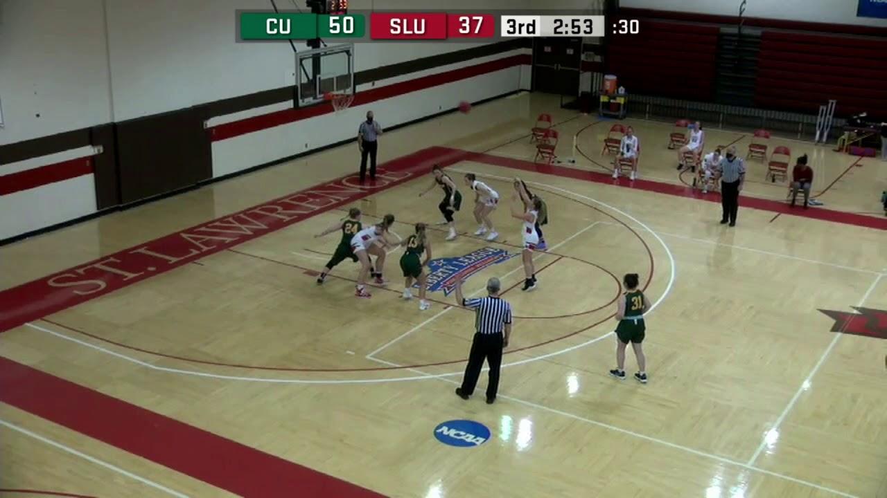 Clarkson 69, St. Lawrence 64 (women's basketball)