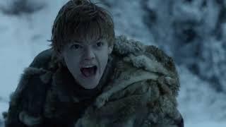 Game of Thrones/Thomas Brodie-Sangster/Jojen Reed death scene/Ellie Kendrick/Meera Reed