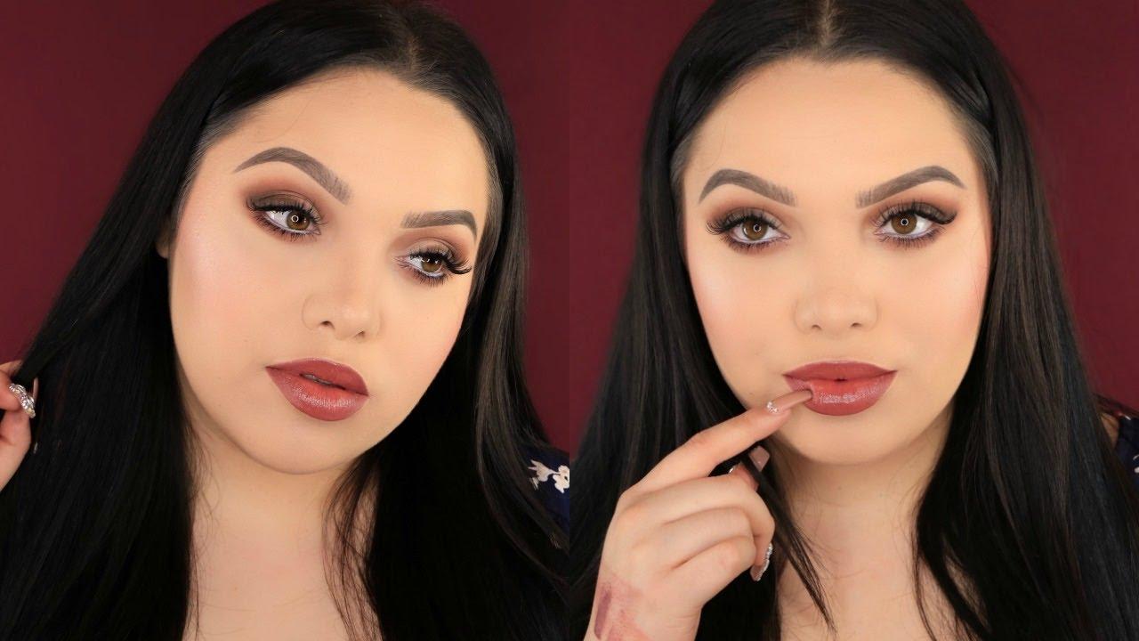 soft-matte-eyes-creamy-lips-makeup-tutorial