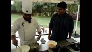 Chef's Recipe With Burrper - Crepes With An Orange Butter Sauce.wmv
