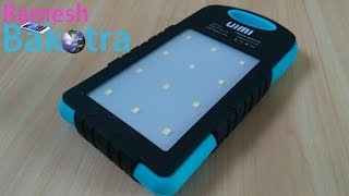 Uimi U3 6000mAh Power Bank Unboxing and Water test