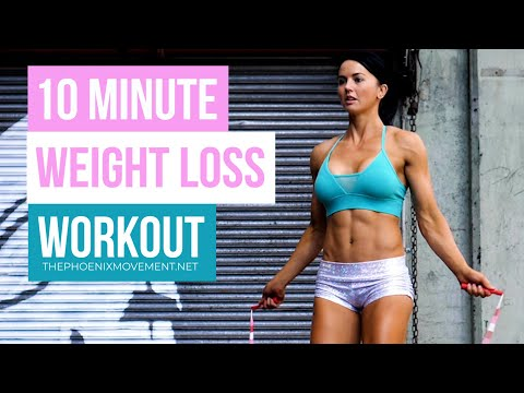 Jump Rope Workout To Lose Weight 10 Minutes