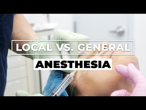 Local vs. General Anesthesia for Cosmetic Surgery