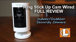 Ring Stick Up Cam Wired 2018 Review - Unboxing, Features, Setup, Testing, Footage + App Updates