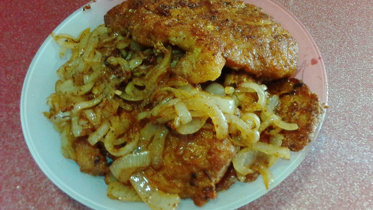 как приготовить отбивные из свинины в кляре на сковороде рецепт с фото