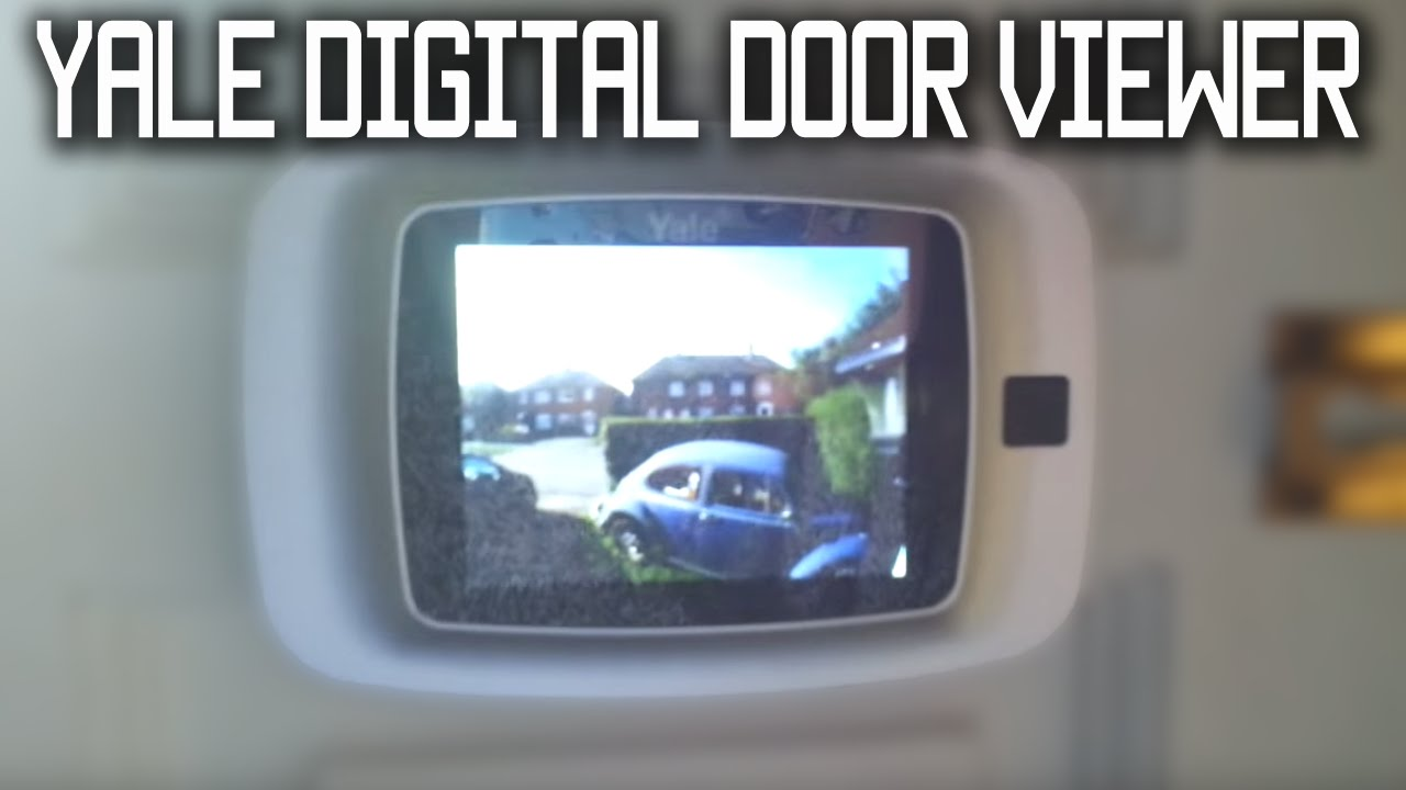 Yale Digital Door Viewer Youtube