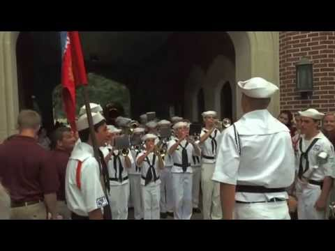 Culver Naval Band at Sally Port - 7.26